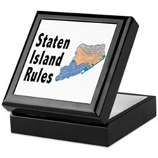 Staten Island Rules Keepsake Box