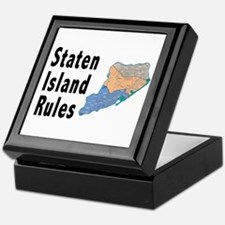 Staten Island Rules Keepsake Box