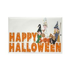 Halloween Kids Rectangle Magnet
