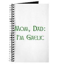 I'm Gaelic Journal