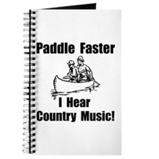 Cute Music canoeing deliverance humor Journal