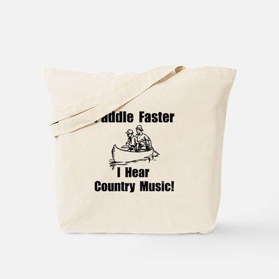 Unique Music canoeing deliverance humor Tote Bag