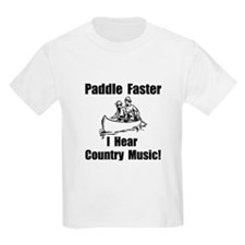 Cute Music canoeing deliverance humor T-Shirt