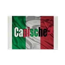 Capische? Rectangle Magnet