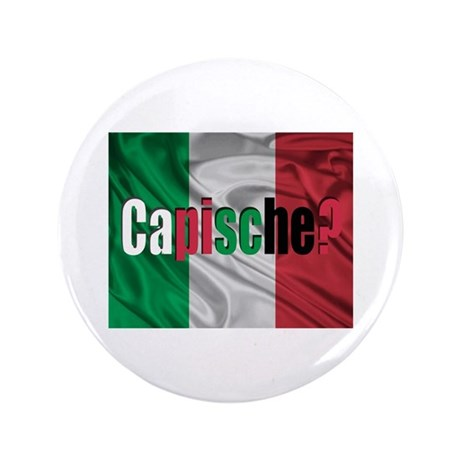 "Capische? 3.5"" Button"