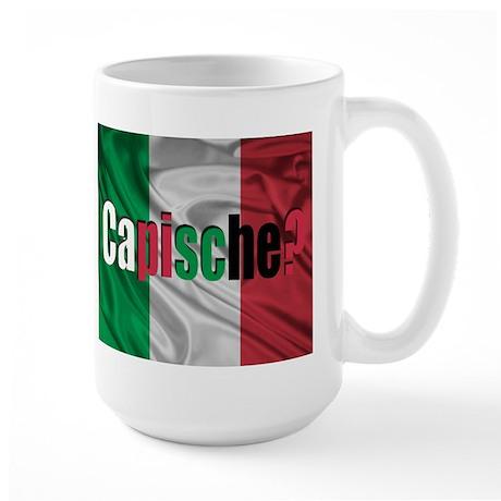 Capische? Large Mug
