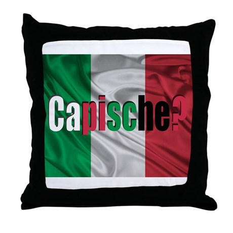 Capische? Throw Pillow