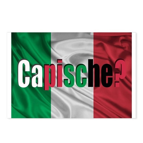 Capische? Postcards (Package of 8)