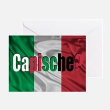 Capische? Greeting Card