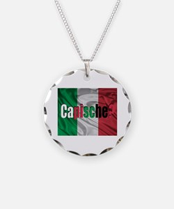 Capische? Necklace Circle Charm