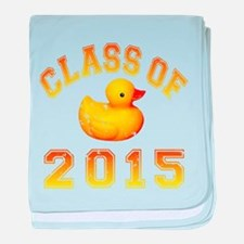 Class Of 2015 Rubber Duckie baby blanket