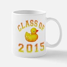 Class Of 2015 Rubber Duckie Mug