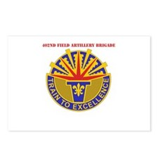 DUI - 402nd Field Artillery Brigade with Text Post