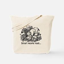 Smart People Read Tote Bag