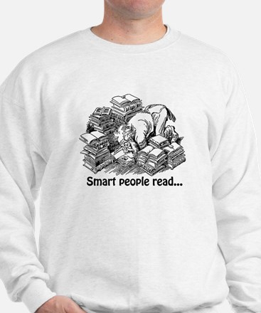 Smart People Read Sweater