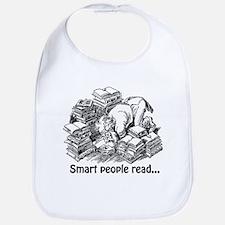 Smart People Read Bib