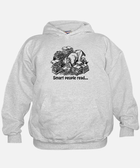 Smart People Read Hoodie