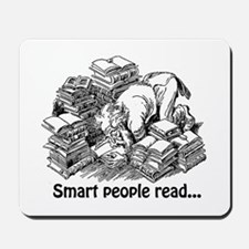 Smart People Read Mousepad