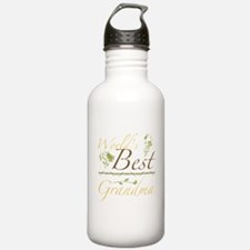 Vintage Best Grandma Water Bottle