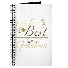 Vintage Best Grandma Journal