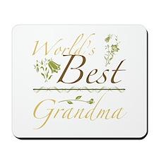 Vintage Best Grandma Mousepad