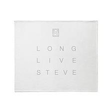 Funny Steve jobs Throw Blanket
