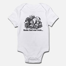Books Feed Your Brain Infant Bodysuit