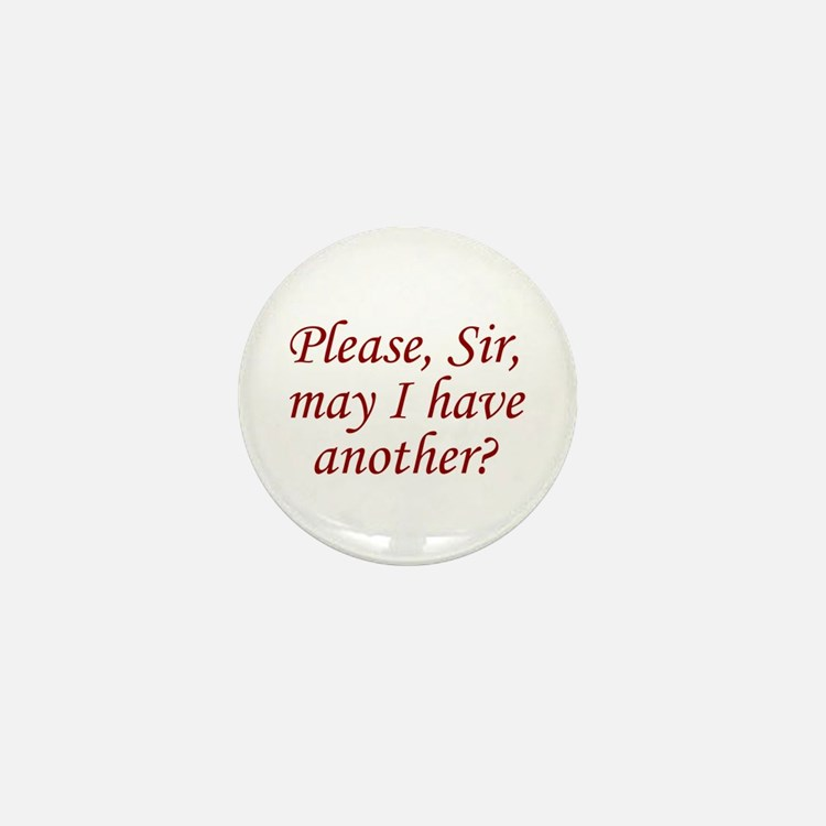 Please, Sir Mini Button