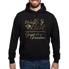 Vintage Best Great Grandma Hoodie (dark)