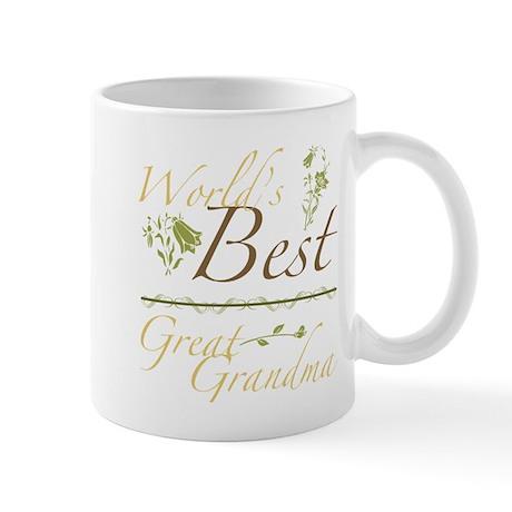 Vintage Best Great Grandma Mug