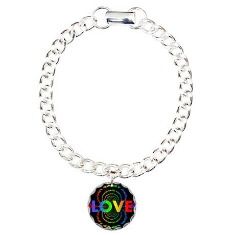 Love Charm Bracelet, One Charm