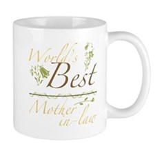 Vintage Best Mother-In-Law Mug