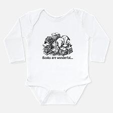 Books Are Wonderful Long Sleeve Infant Bodysuit