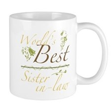 Vintage Best Sister-In-Law Mug