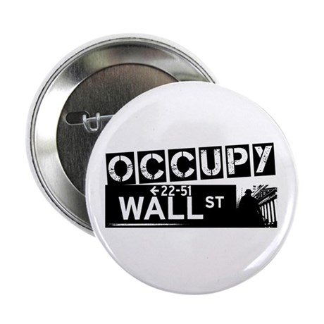 "Occupy Wall Street 2.25"" Button (100 pack)"