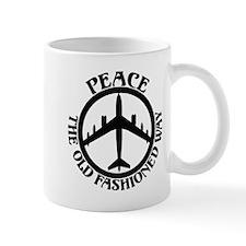 B-47 Peace The Old Fashioned Way Mug