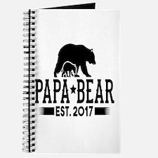 Papa Bear Est. 2017 Journal