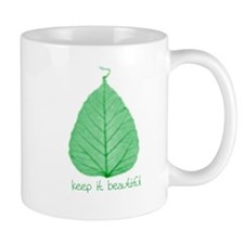 Keep it Beautiful Environmental Small Mug