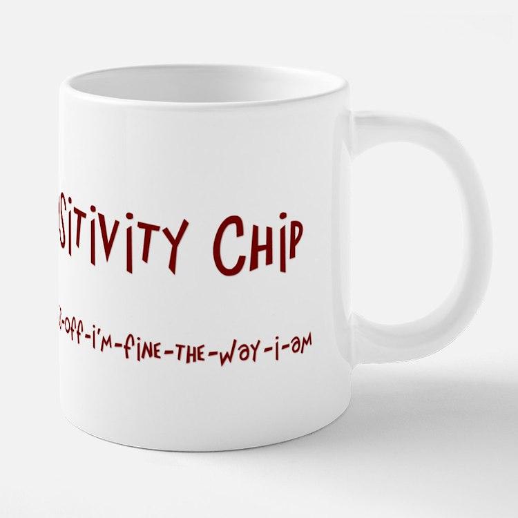 Cute Attitude adult humor funny 20 oz Ceramic Mega Mug