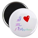 I Love The Philippines Gifts Magnet