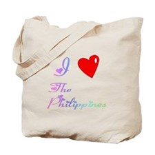 I Love The Philippines Gifts Tote Bag