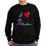 I Love The Philippines Gifts Sweatshirt (dark)
