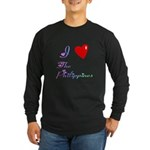 I Love The Philippines Gifts Long Sleeve Dark T-Sh