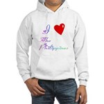 I Love The Philippines Gifts Hooded Sweatshirt