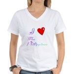 I Love The Philippines Gifts Women's V-Neck T-Shir