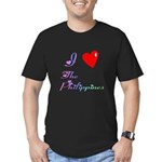 I Love The Philippines Gifts Men's Fitted T-Shirt