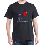 I Love The Philippines Gifts Dark T-Shirt