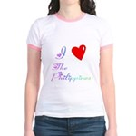 I Love The Philippines Gifts Jr. Ringer T-Shirt