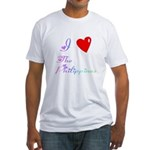 I Love The Philippines Gifts Fitted T-Shirt