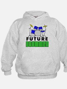 Future Drummer (Blue) Hoodie
